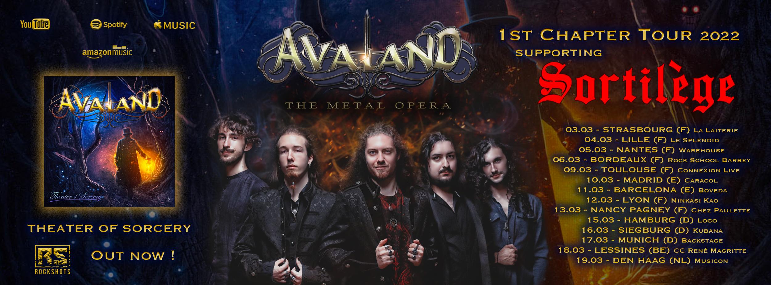Avaland band